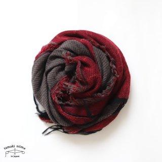 tamaki niime 玉木新雌 roots shawl wool middle RSM_W137/ ルーツショール ウール70% コットン30% ミドルサイズ