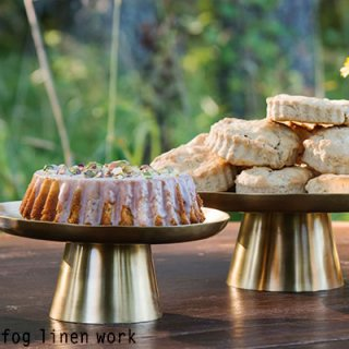 fog linen work(フォグリネンワーク)  ブラス ケーキスタンド(S) / BRASS CAKE STAND (S) IHP011S