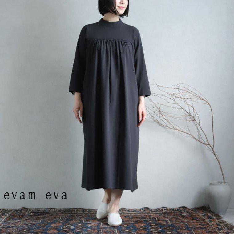 evam eva(エヴァム エヴァ) 【2021ss新作】ハイネックワンピース
