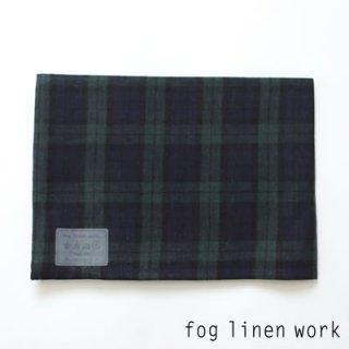【3点までゆうパケット可】fog linen work(フォグリネンワーク) リネンキッチンクロス ジェームズ/ランチョンマット キッチンタオル LKC001-TC18