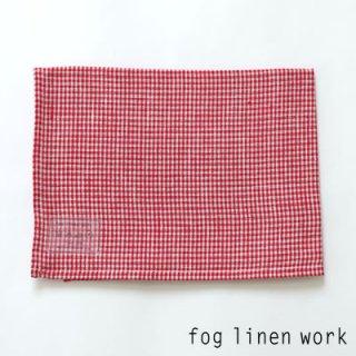 【3点までゆうパケット可】fog linen work(フォグリネンワーク) リネンキッチンクロス エマ/ランチョンマット キッチンタオル LKC001-REBEPL