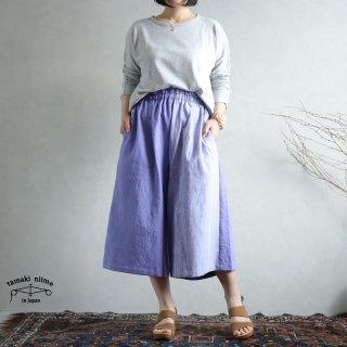 tamaki niime(タマキ ニイメ) 玉木新雌 sen SHORT cotton100% senS_01 / オンリーワン セン ショート コットン100%