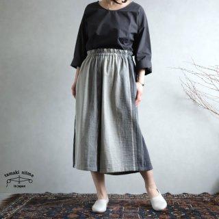 tamaki niime(タマキ ニイメ) 玉木新雌 sen SHORT cotton100% senS_03 / オンリーワン セン ショート コットン100%