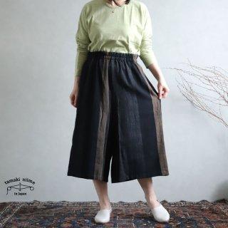 tamaki niime(タマキ ニイメ) 玉木新雌 sen SHORT cotton100% senS_04 / オンリーワン セン ショート コットン100%