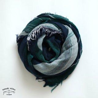 tamaki niime 玉木新雌 roots shawl wool big RSB_W15/ ルーツショール ウール70% コットン30% ビッグサイズ