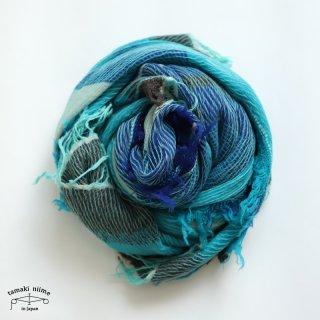 tamaki niime 玉木新雌 roots shawl wool big RSB_W18/ ルーツショール ウール70% コットン30% ビッグサイズ