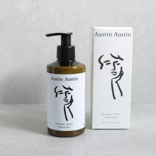 Austin Austin palmarosa & vetiver hand cream 250ml / ハンドクリーム