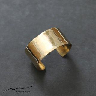 accessories mau (アクセサリー マウ)  平打ちbrass bangle(3cm)