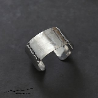 accessories mau (アクセサリー マウ)  平打ちsilver bangle(3cm)