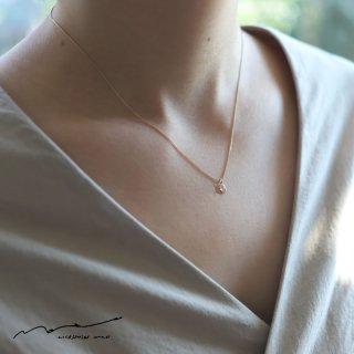 accessories mau (アクセサリー マウ)  スライスダイヤモンドネックレス A
