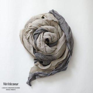 Veritecoeur(ヴェリテクール)【2021SS新作】ストール KINARI×GRAY / VC-2252