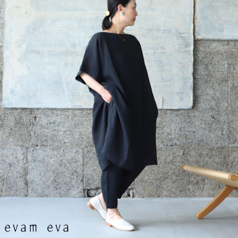 evam eva(エヴァム エヴァ) 【2021ss新作】リネンポンチョ
