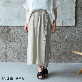 evam eva(エヴァム エヴァ) 【2021ss新作】ラップスカート / wrap skirt beige (10) E211K116