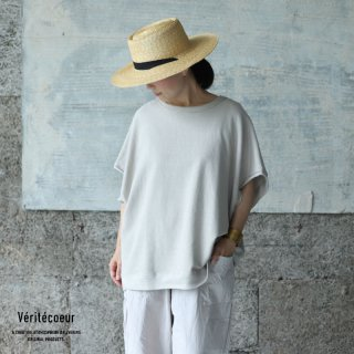 Veritecoeur(ヴェリテクール)【2021SS新作】ノースリーブプルオーバー GRYGE / VCC-387
