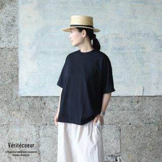 Veritecoeur(ヴェリテクール)【2021SS新作】ショートスリーブ BLACK / VCC-379