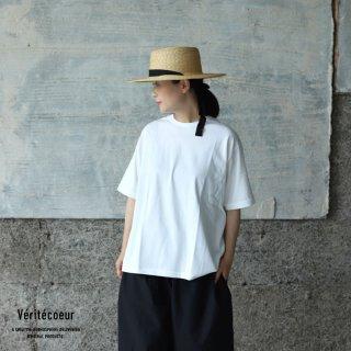 Veritecoeur(ヴェリテクール)【2021SS新作】ショートスリーブ WHITE / VCC-379