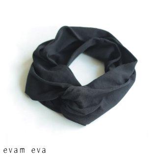 evam eva(エヴァム エヴァ)  vie【2021ss新作】コットンターバン / cotton turban black (90) V211G934