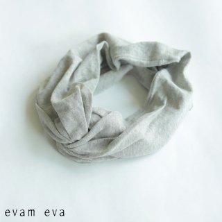 evam eva(エヴァム エヴァ)  vie【2021ss新作】コットンターバン / cotton turban light gray (82) V211G934
