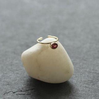 accessories mau (アクセサリー マウ)  ガーネット イヤーカフ