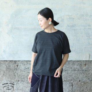 tamaki niime(タマキ ニイメ) 玉木新雌 maru t HALF SLEEVES サイズ2 44 グレー系 cotton100% マル T 半袖 コットン100%