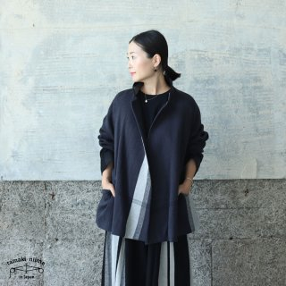 tamaki niime(タマキ ニイメ) 玉木新雌 only one プトン 03 wool70% cotton30% ウールジャケット ウール70% コットン30%