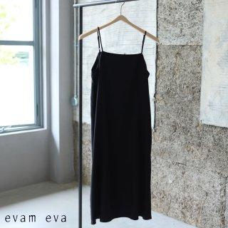 evam eva(エヴァム エヴァ)  vie インナーキャミソール ワンピース / inner camisole one-piece black (90) V211T929