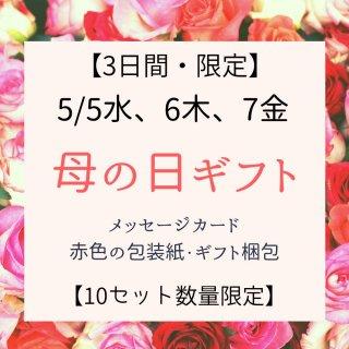 【限定10セット】 母の日ギフト(販売期間:5/5水〜5/7金)