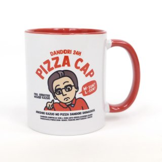 PIZZA CAP OFFICIAL マグカップ<img class='new_mark_img2' src='https://img.shop-pro.jp/img/new/icons12.gif' style='border:none;display:inline;margin:0px;padding:0px;width:auto;' />