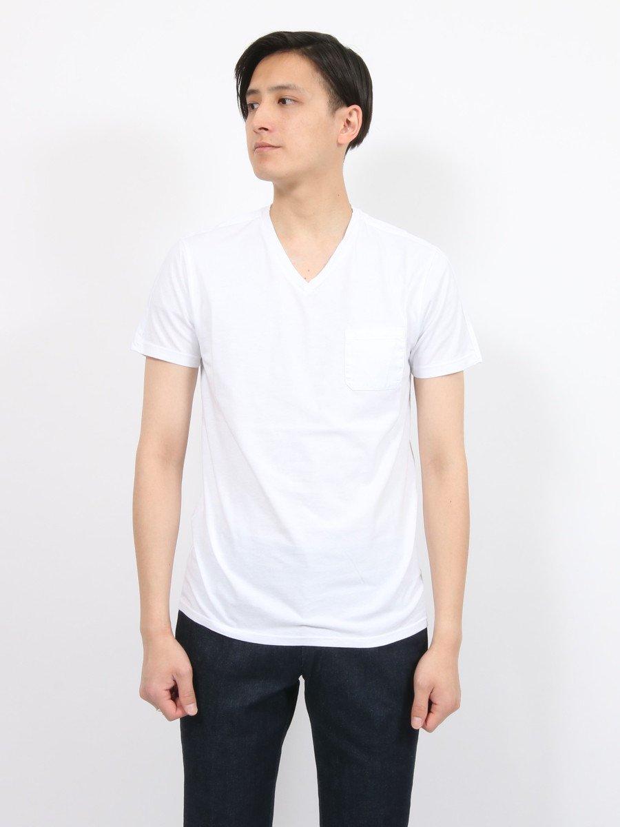 【DANIELE FIESOLI】<br>ポケット付きVネックTシャツ