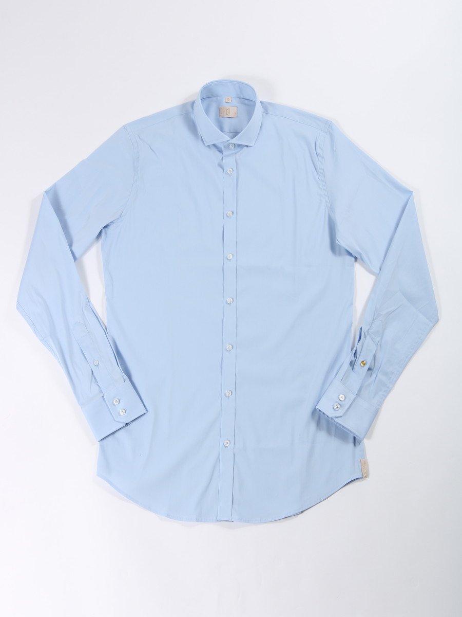 【Q1】<br>セミワイドカラーシャツ