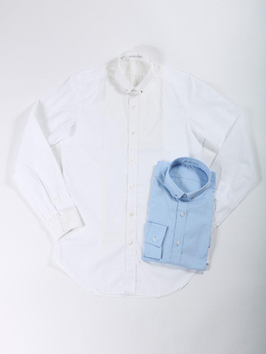 【VANGHER】<br>ピンホールシャツ
