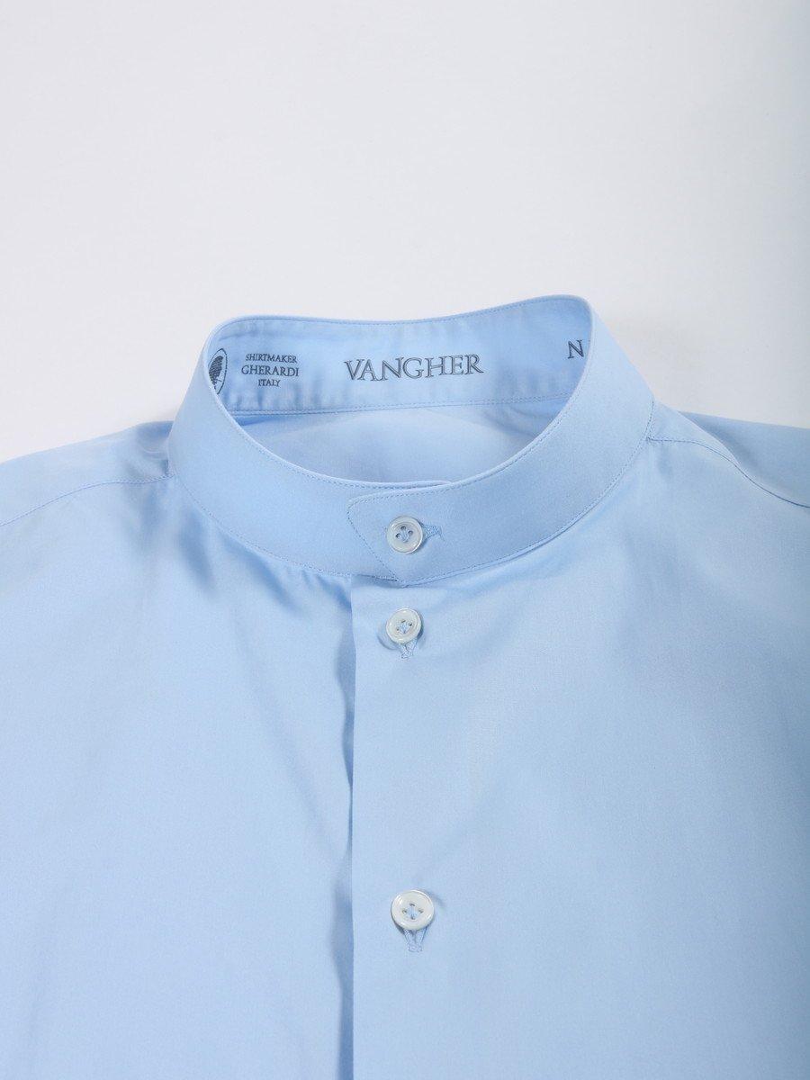【VANGHER】スタンドカラーシャツ