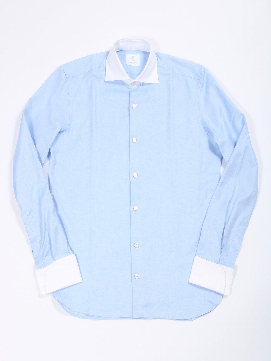 【MASSIMO LA PORTA】<br>ダブルカフスクレリックシャツ