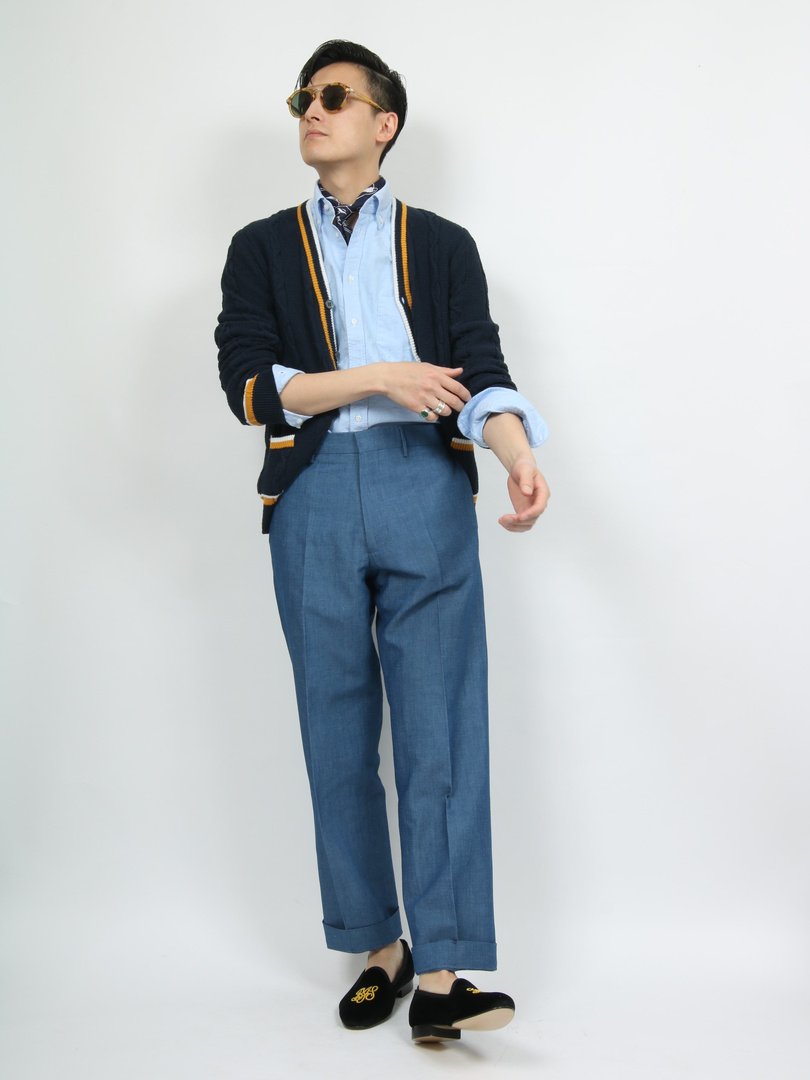 【BERWICH】LUCANO コットンリネンワイドパンツ
