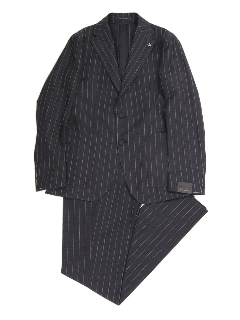 【TAGLIATORE】<br>A-DAKAR チョークストライプスーツ