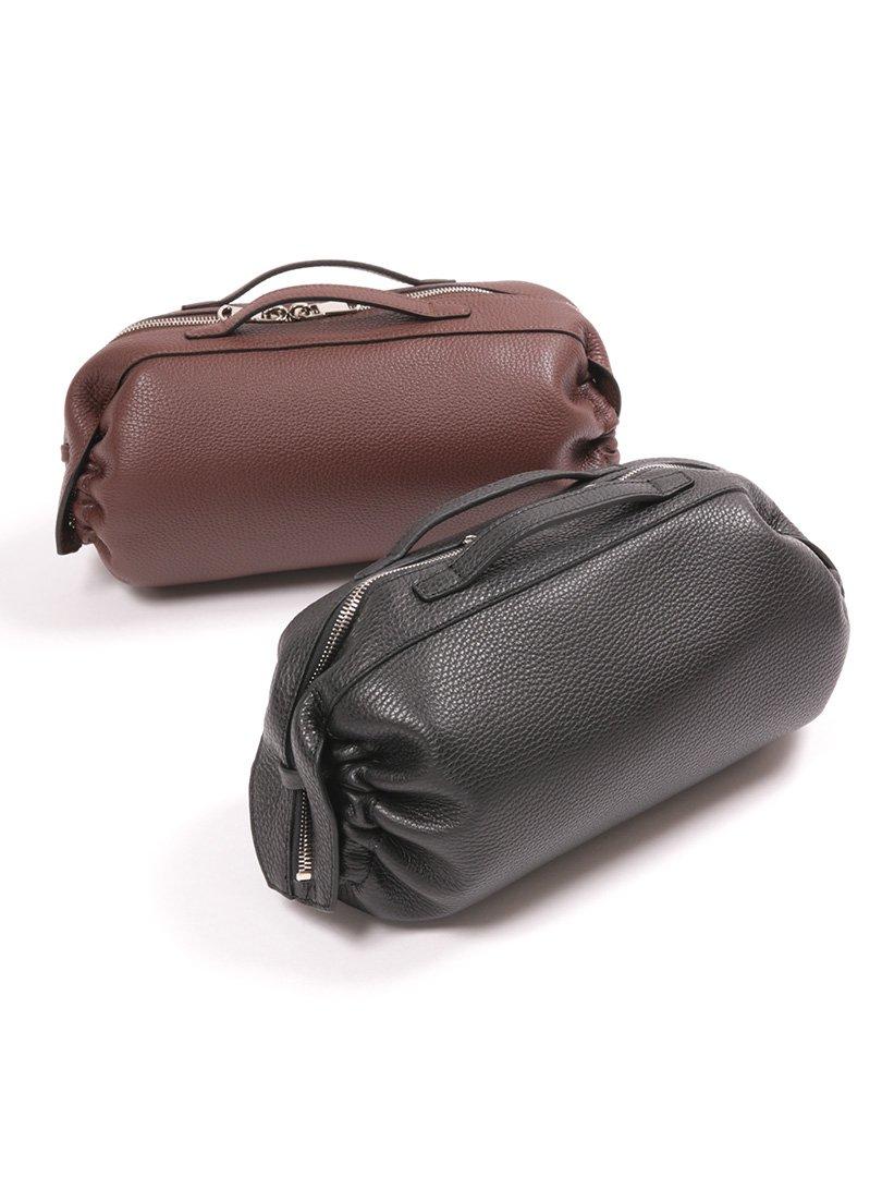 【CAVALLERESCO】<br>カーフレザーセカンドバッグ