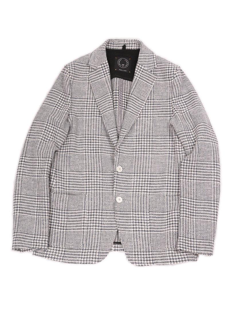 【T-JACKET】<br>グレンチェックジャケット