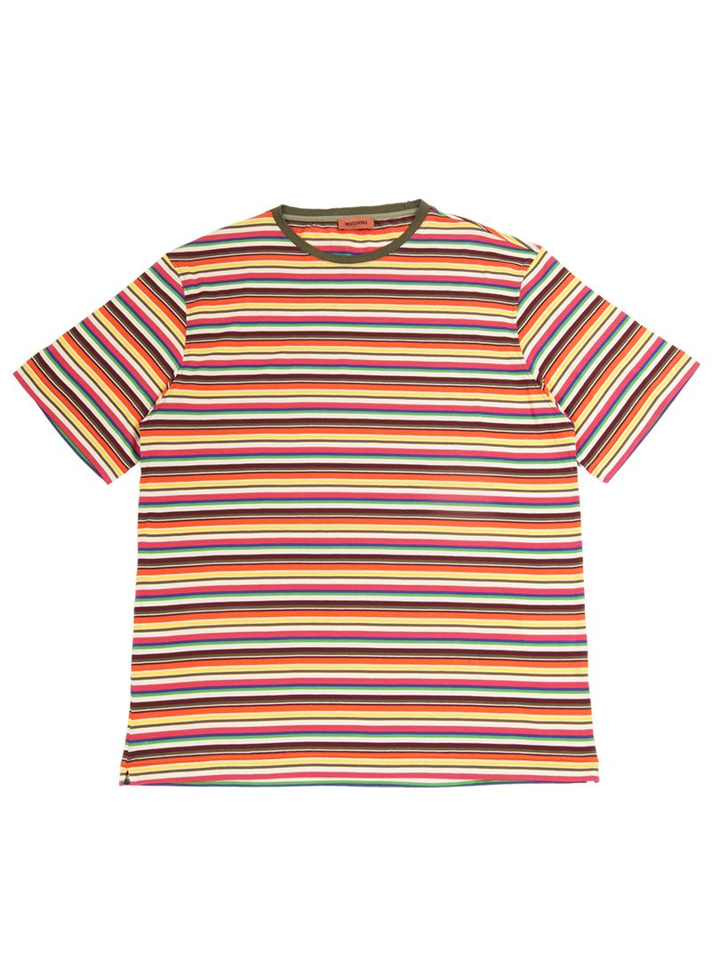 【MISSONI】<br>マルチボーダーTシャツ
