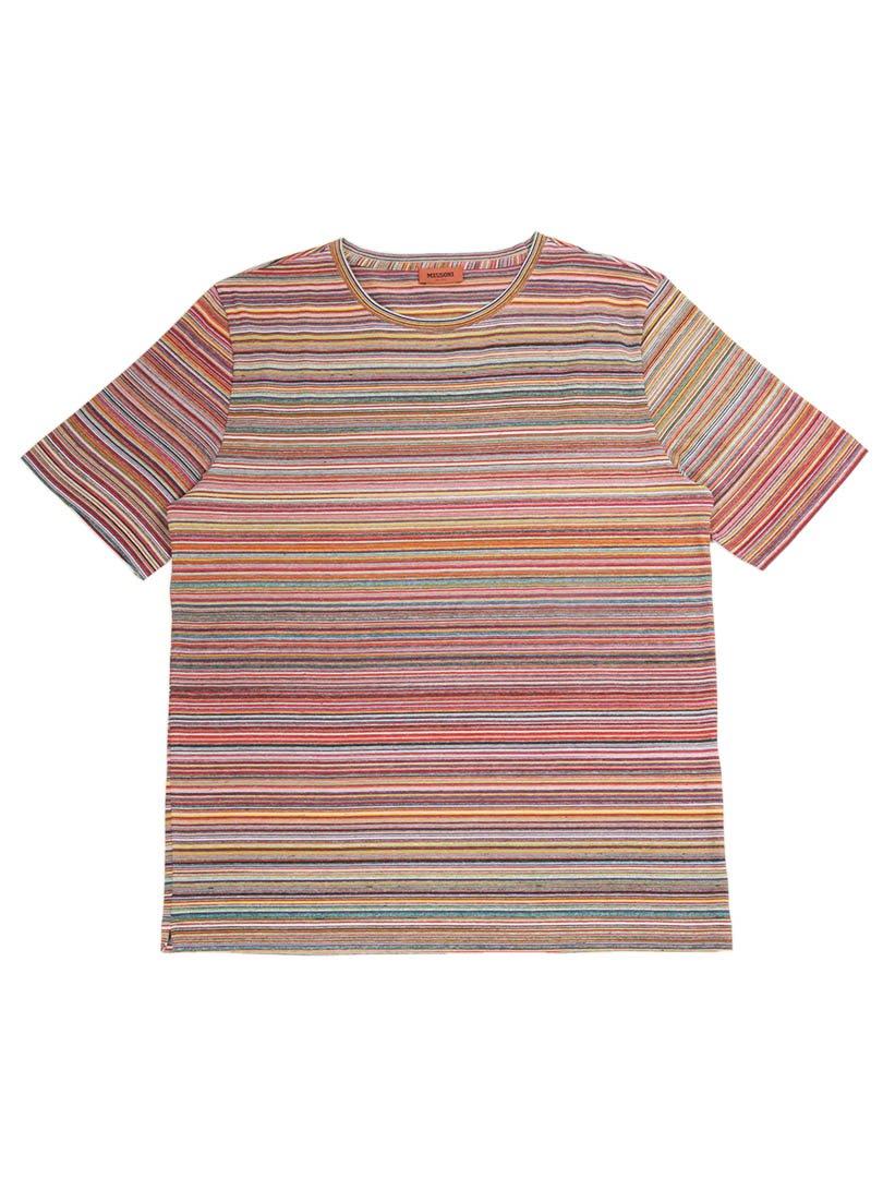 【MISSONI】<br>コットンスラブTシャツ