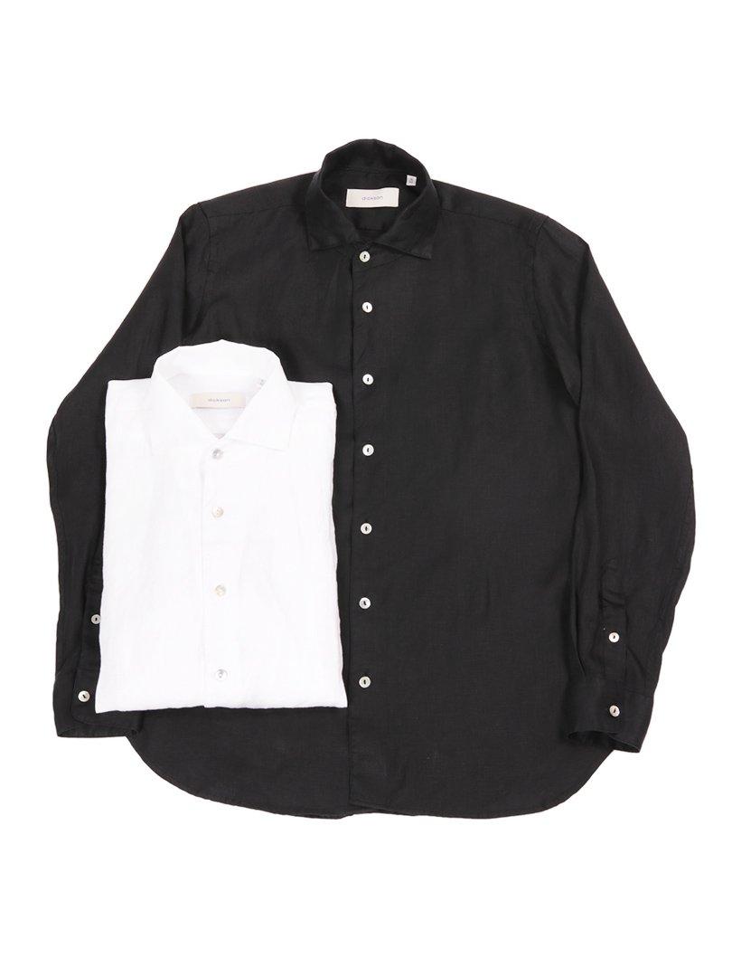 【dickson】<br>リネンワンピースカラーシャツ