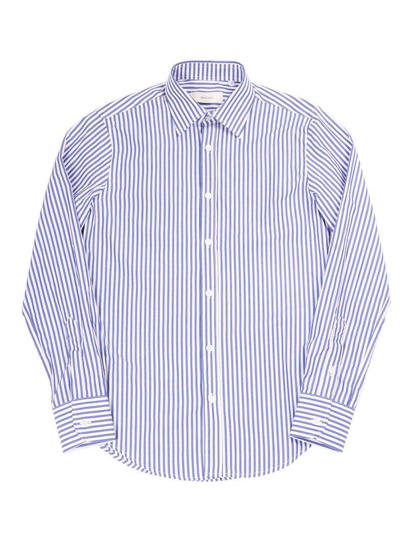 【dickson】<br>ストライプレギュラーシャツ