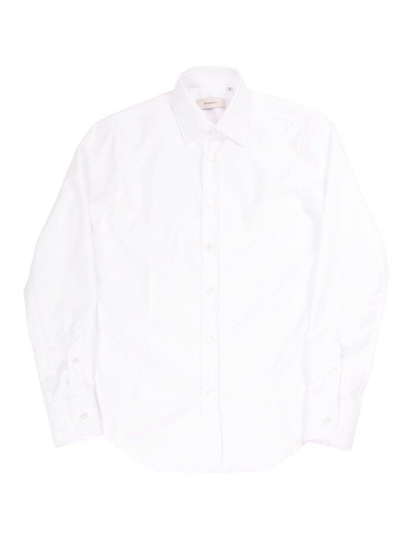 【dickson】<br>コットンツイルレギュラーシャツ