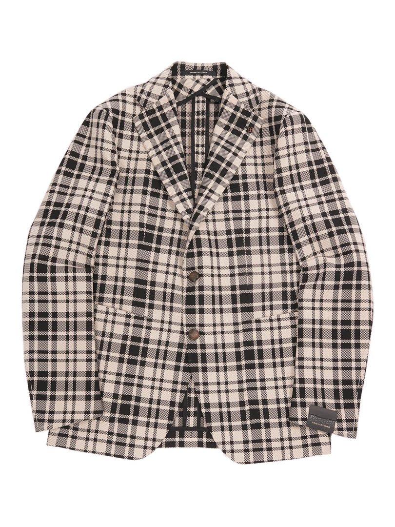 【TAGLIATORE】<br>MONTECARLO タータンチェックジャケット