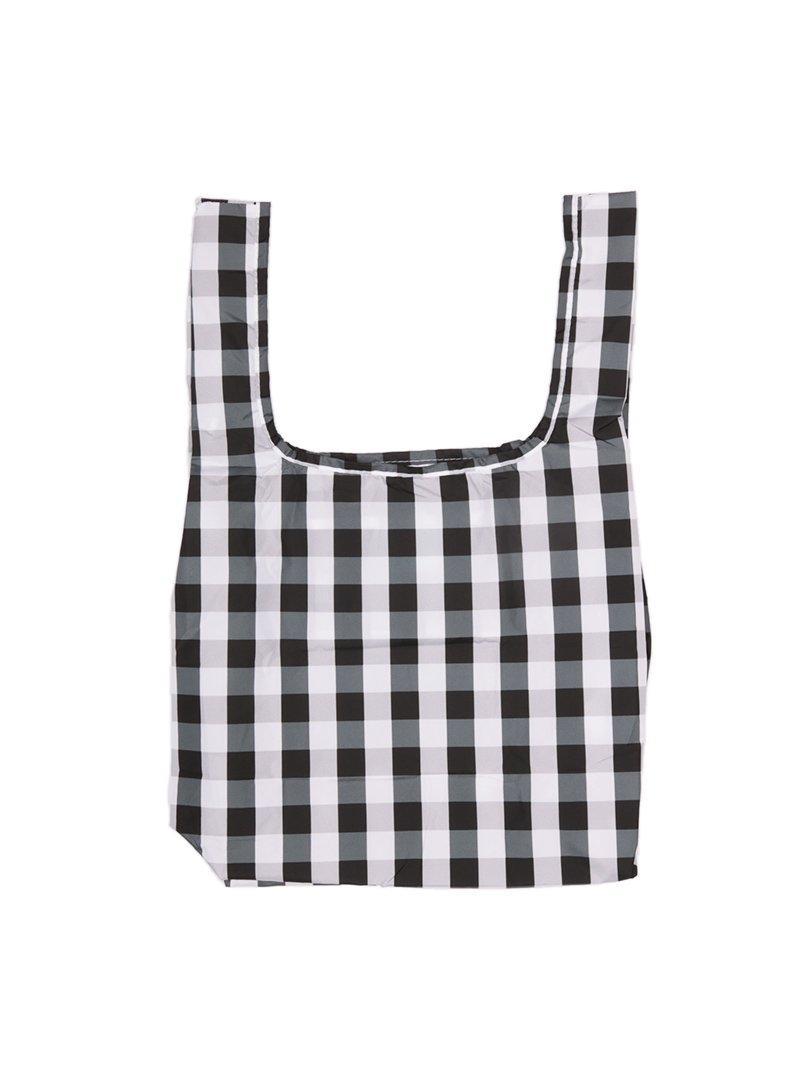 【KIND BAG】<br>ミニショッピングバッグ-ギンガム-