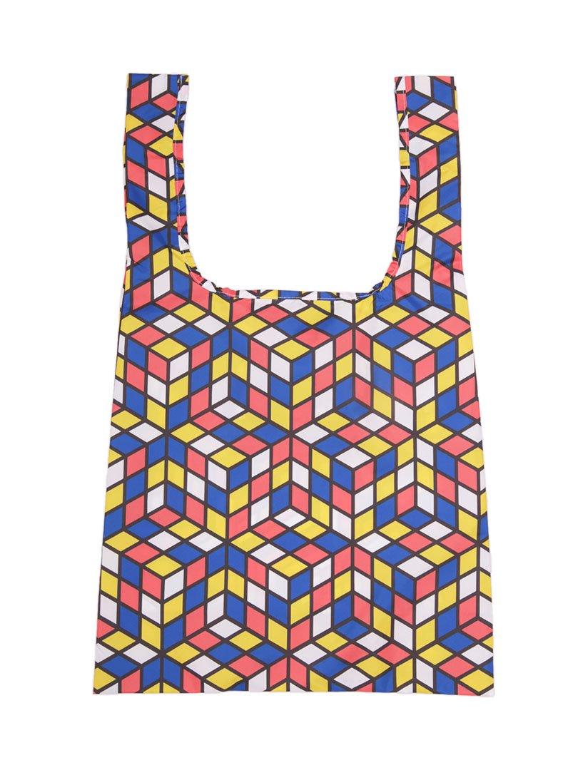 【KIND BAG】<br>ショッピングバッグ-キューブ-