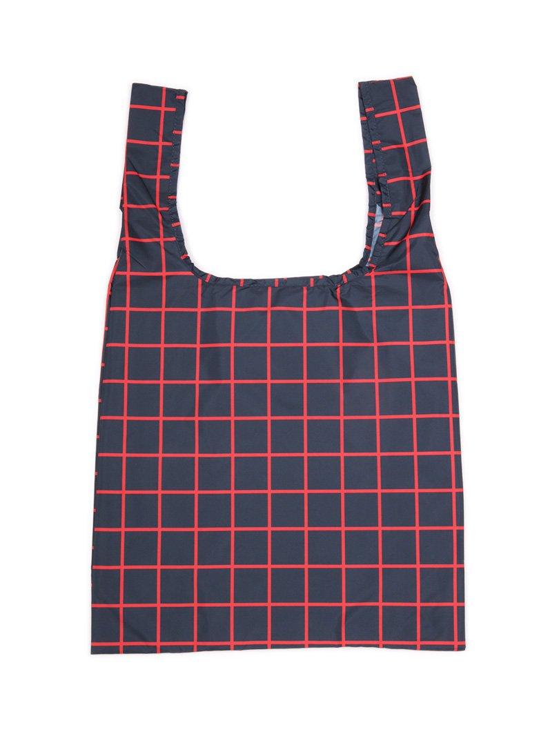 【KIND BAG】<br>ショッピングバッグ-グリッド-