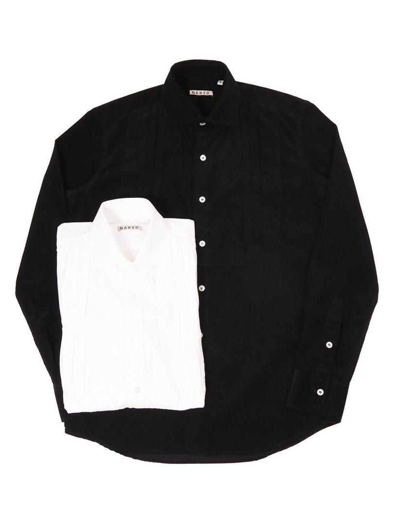 【NAKED】<br>コーデュロイプリーツシャツ