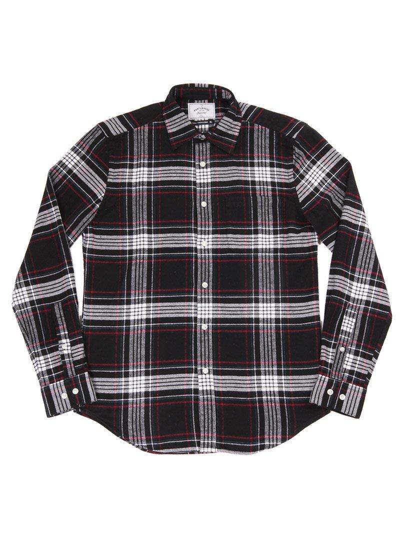 【Portuguese Flannel】<br>BIG SQUARE NAZARE フランネルシャツ