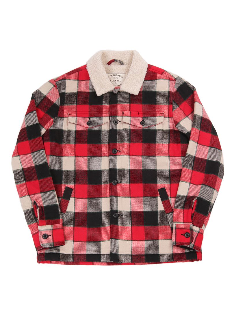 【Portuguese Flannel】<br>SHERPA ジャケット