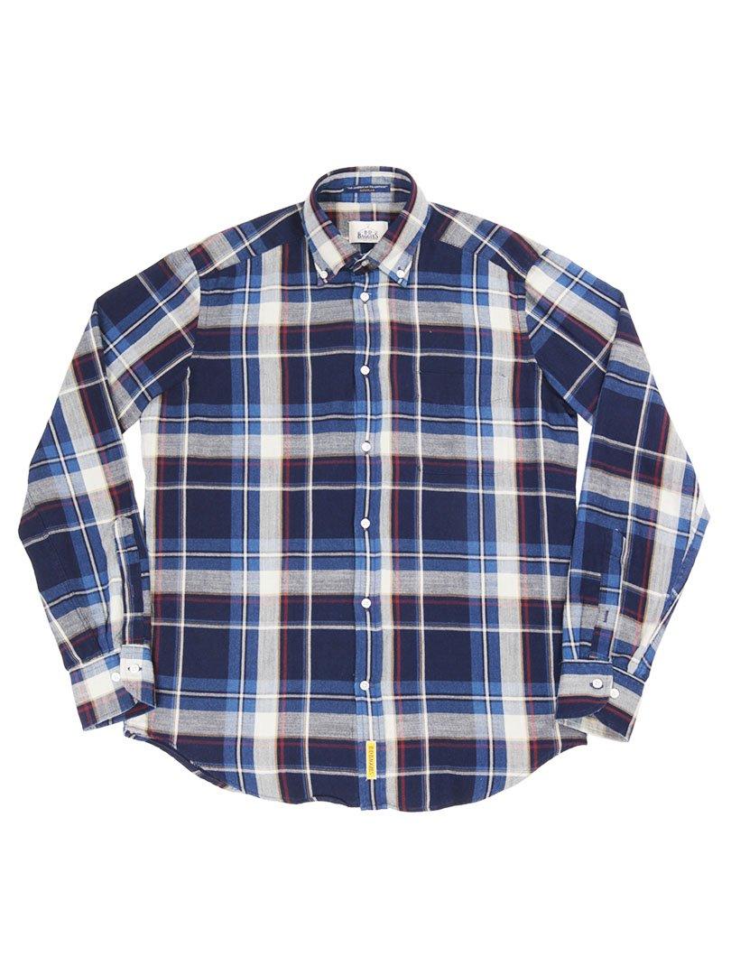 【B.D. Baggies】<br>BRADFORD チェックボタンダウンシャツ